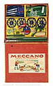 Meccano rare Export Set Ga blue/yellow hatched