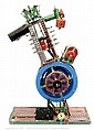Meccano a home-constructed model of a single