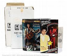 GRP inc Collection of Dolls Ljn Michael Jackson