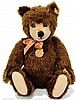Steiff original Teddy Bear, dark brown mohair