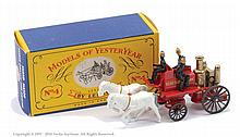 Matchbox Models of Yesteryear Y4 Horse Drawn