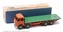 Dinky No.502 Foden Flat Truck - 1st type burnt