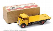 Dinky No.512 Guy (1st type) Flat Truck yellow