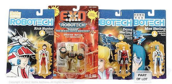 GRP Harmony Gold Robotech 3 3/4