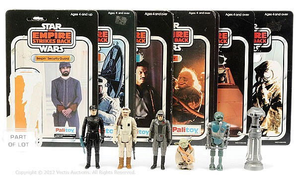 QTY Palitoy and Kenner Star Wars figures
