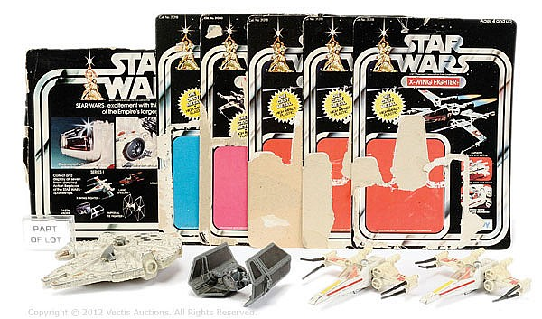 Palitoy Star Wars inc small scale diecast Ships