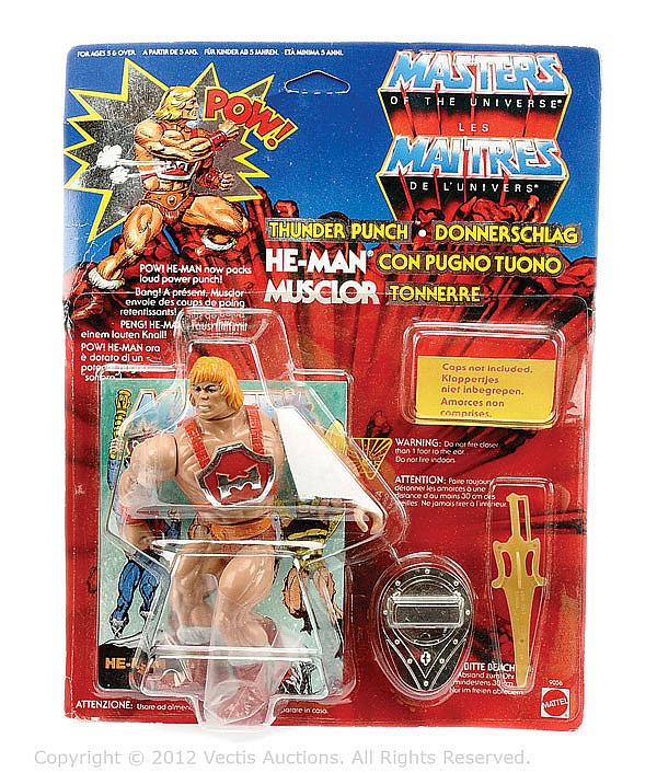 Mattel Masters of the Universe Thunderpunch