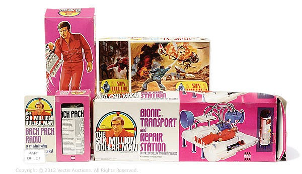 GRP toys inc Denys Fisher Six Million Dollar Man