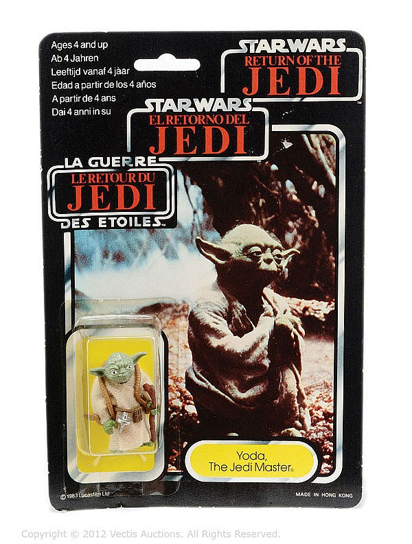 Palitoy/General Mills Star Wars Return Jedi Yoda