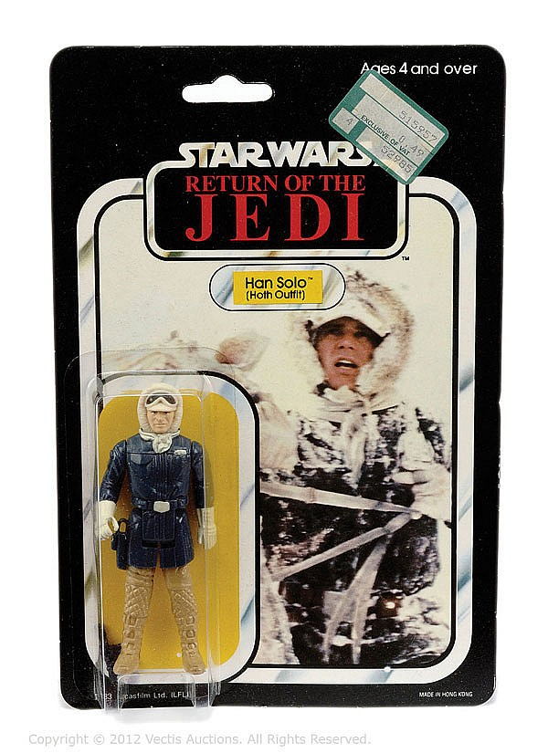 Palitoy Star Wars Return Jedi Han Solo