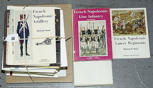 QTY inc Military Books - Napoleonic's