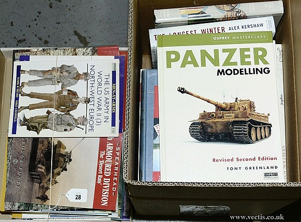 GRP inc Military Books, Panzer Modelling - Tony