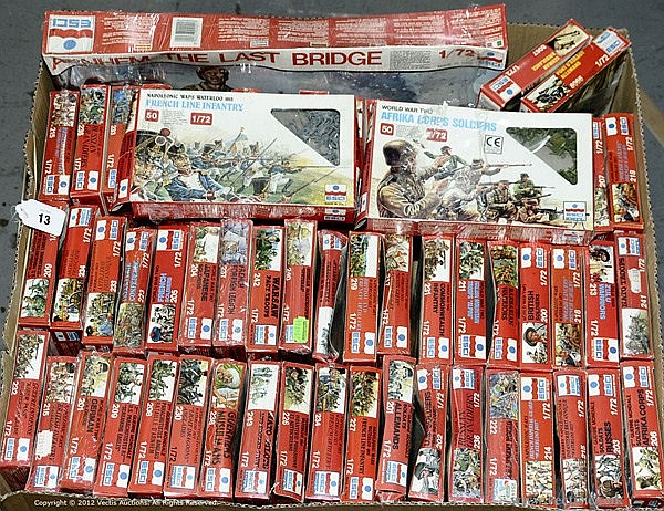 GRP inc Esci 1/72nd Scale Figures, 57 x various