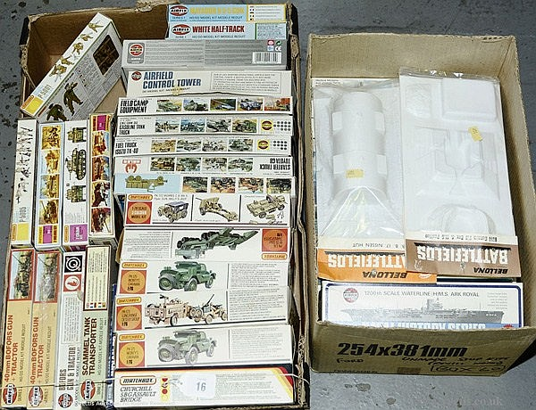 GRP inc Matchbox, Atlantic, Bellona, Revell