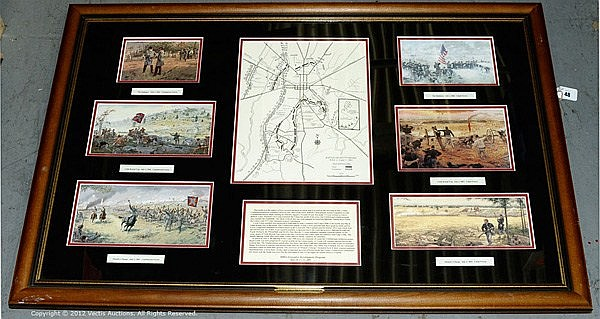 Military Print, Gallon Historical Art, 2004