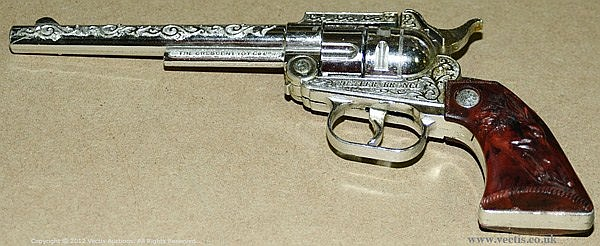 Crescent - Model No' 666 - Cap Pistol, 1959