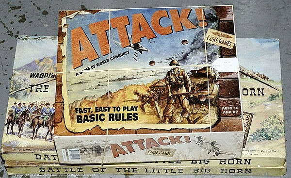 GRP inc Eagle Games - Attack - A Game of World