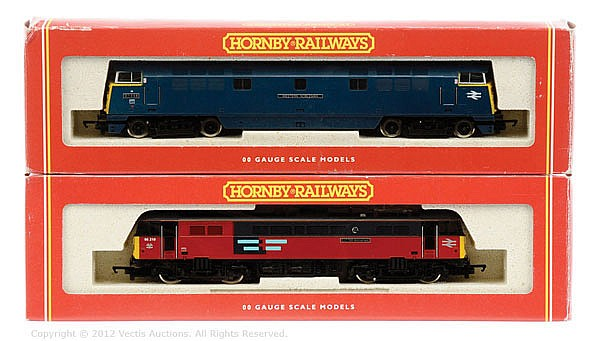 PAIR inc Hornby Railways OO Gauge 2 x locos R301