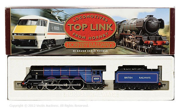 Hornby Railways OO Gauge Steam loco R140 BR A3