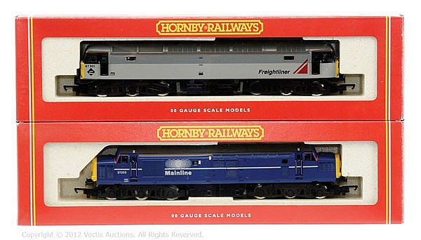 PAIR inc Hornby Railways OO Gauge 2 x Diesel