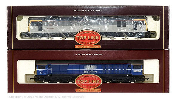 PAIR inc Hornby Railways Toplink 2 x locos