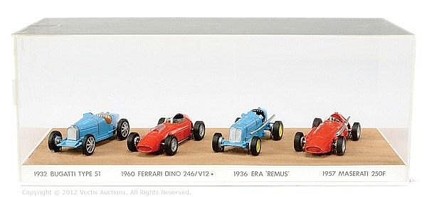 Matchbox Models of Yesteryear set of 4 Race Cars