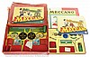 PAIR inc Meccano Set No.6 1950's red/green
