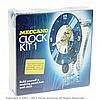 Meccano Clock Kit, contents unchecked box
