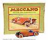Meccano No.1 Constructor Car, red/blue