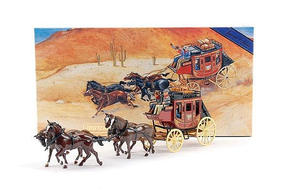 Matchbox YSH3-1 1875 Stagecoach