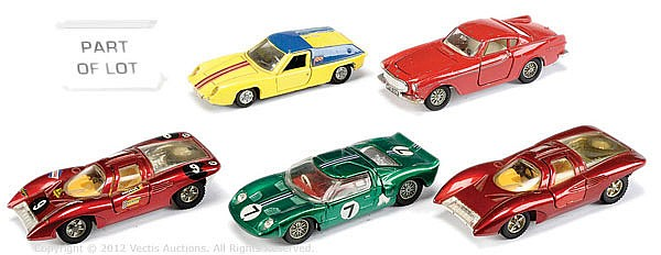 GRP Dinky unboxed inc No.116  Volvo 1800S