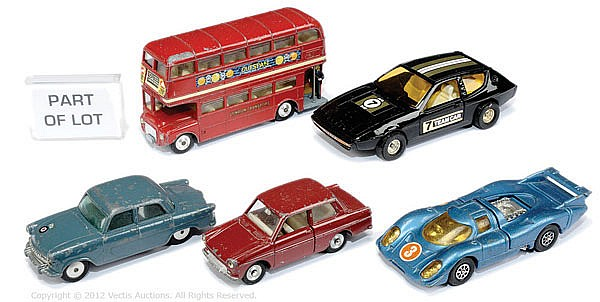 GRP Corgi unboxed Cars and Light Commercials