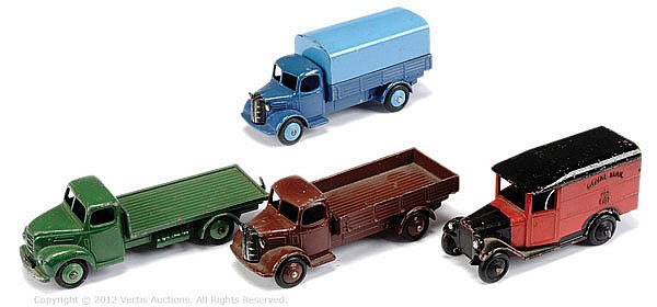 GRP Dinky unboxed Commercial Vehicles