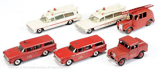 GRP Dinky Emergency Vehicle inc Nash Rambler