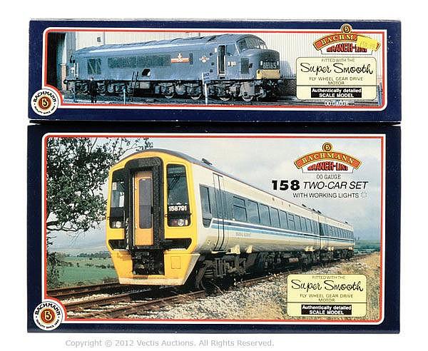 PAIR inc Bachmann OO Gauge 31076 3 Class 46