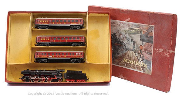 Marklin HO Gauge DSG Passenger Train Set