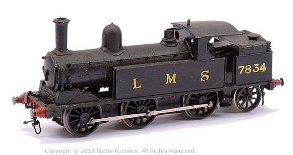 Constructed OO Gauge Kit with motor of an 0-6-2
