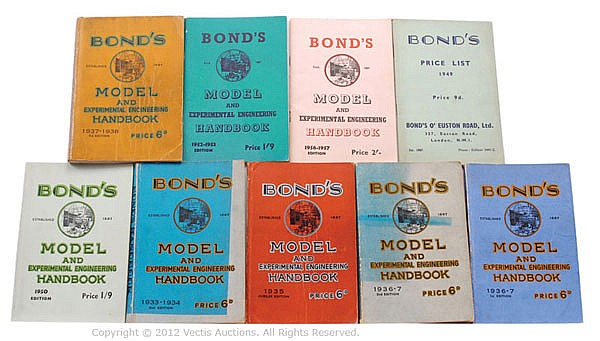 GRP Bond's O' London Euston Road Limited Books