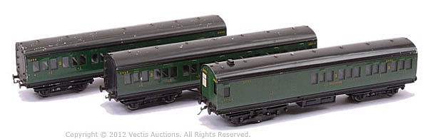 Exley OO Gauge 3-car Southern Railway EMU Set