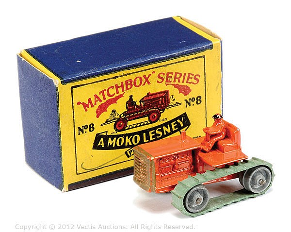 Matchbox Regular Wheels No.8A Caterpillar