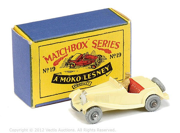Matchbox Regular Wheels No.19A MG Midget TD