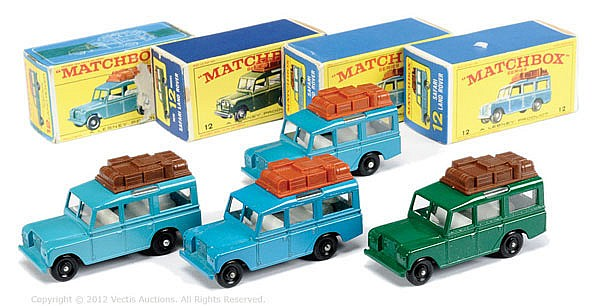 GRP inc Matchbox Regular Wheels No.12C Land