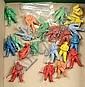 21 x vintage plastic Astronaut Figures