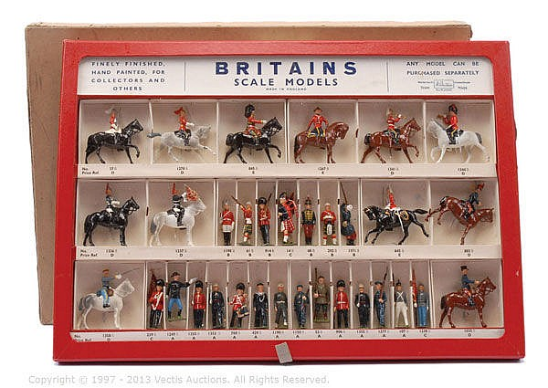 Britains Picture Pack Counter Sales Case No'