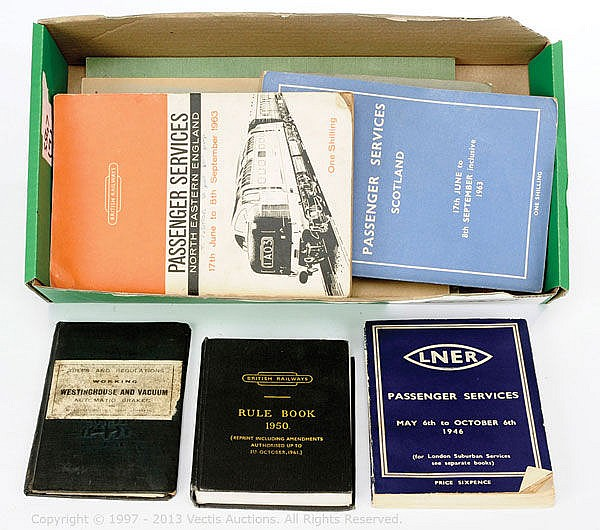 Various Railway Publications LNER General