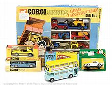 Corgi Junior Set and boxed car - No.3024 Road