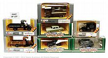GRP inc Corgi boxed commercial and car - D897/14