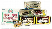 GRP inc Corgi boxed car and commercial - No.405
