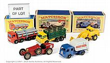 GRP inc Matchbox Regular Wheels various unboxed