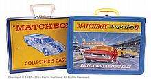 PAIR inc Matchbox Collectors Carrying Cases
